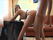 Amateur Couple Fucking In Apartment :: His very curvy girlfriend submitted this hot amateur sex tape