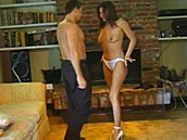 She Always Wanted To Blow an Older Man :: 19 year old strips naked and gives great head