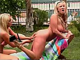 Intense Dildo Pleasure :: Hot lesbian gets intense pleasure from a dildo